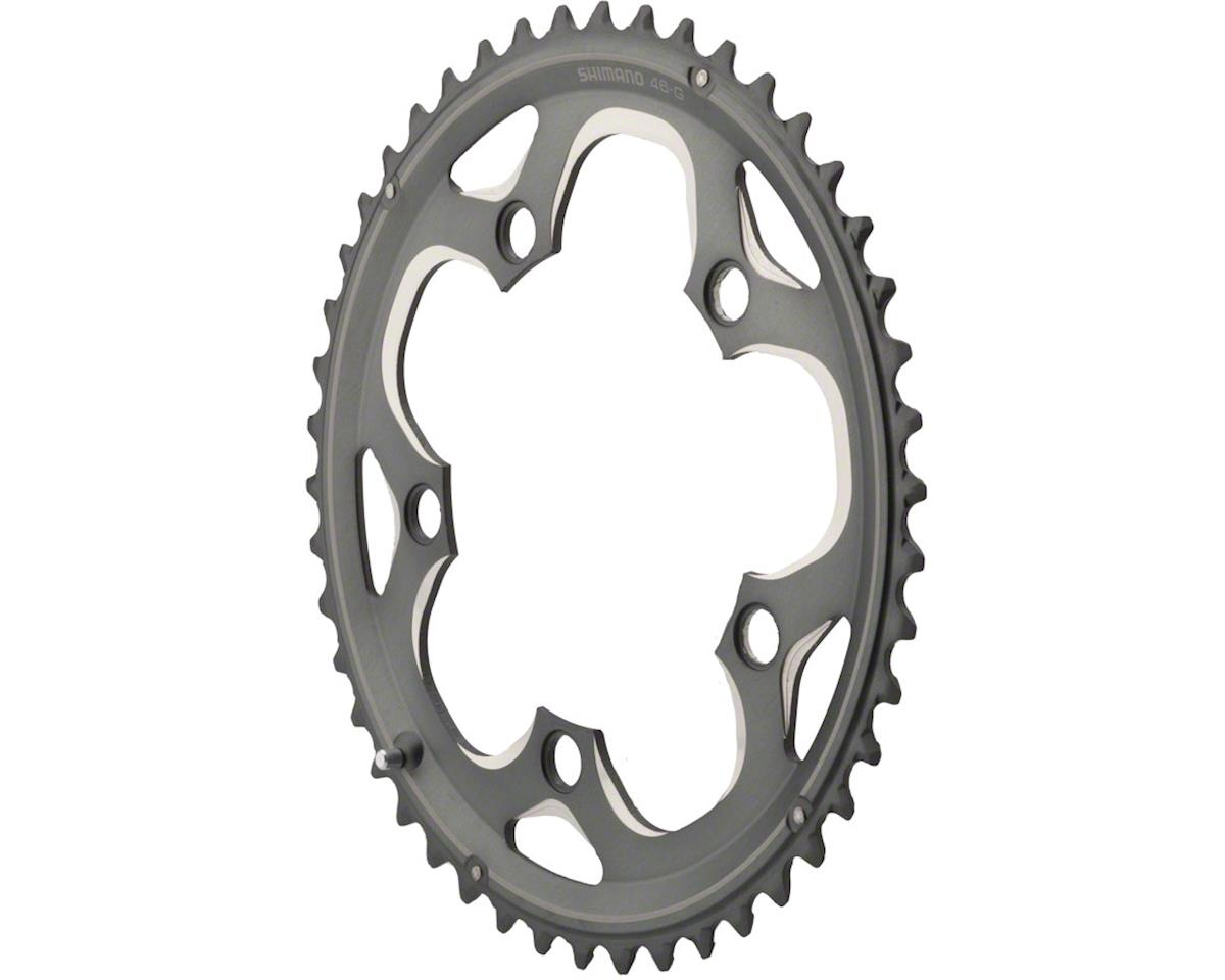 Shimano Cyclocross CX70 Chainring (Black) (46T) (110 BCD)