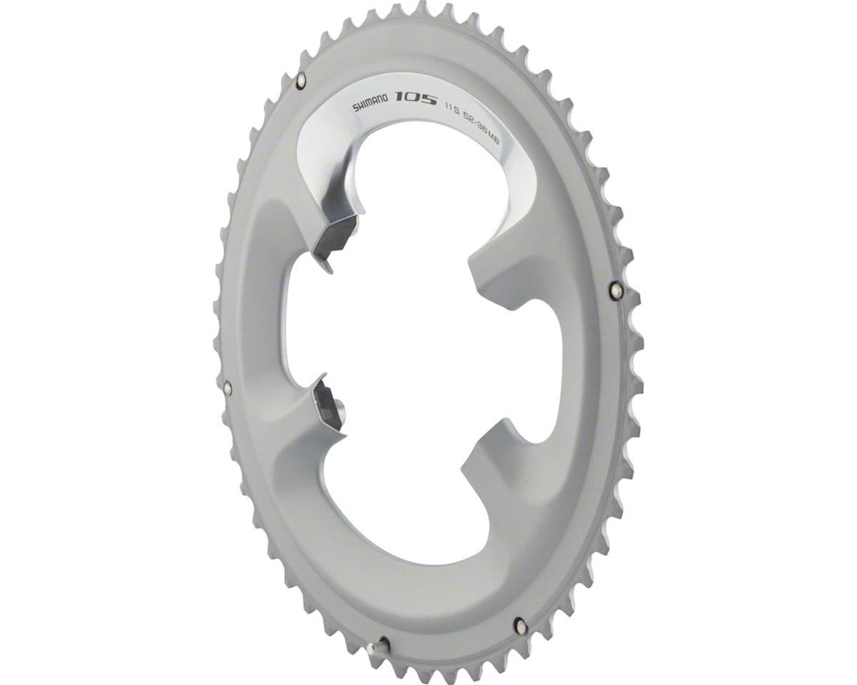 Shimano 105 FC 5800 Chainring 11 Speed 50T For 50-34T 110mm Silver