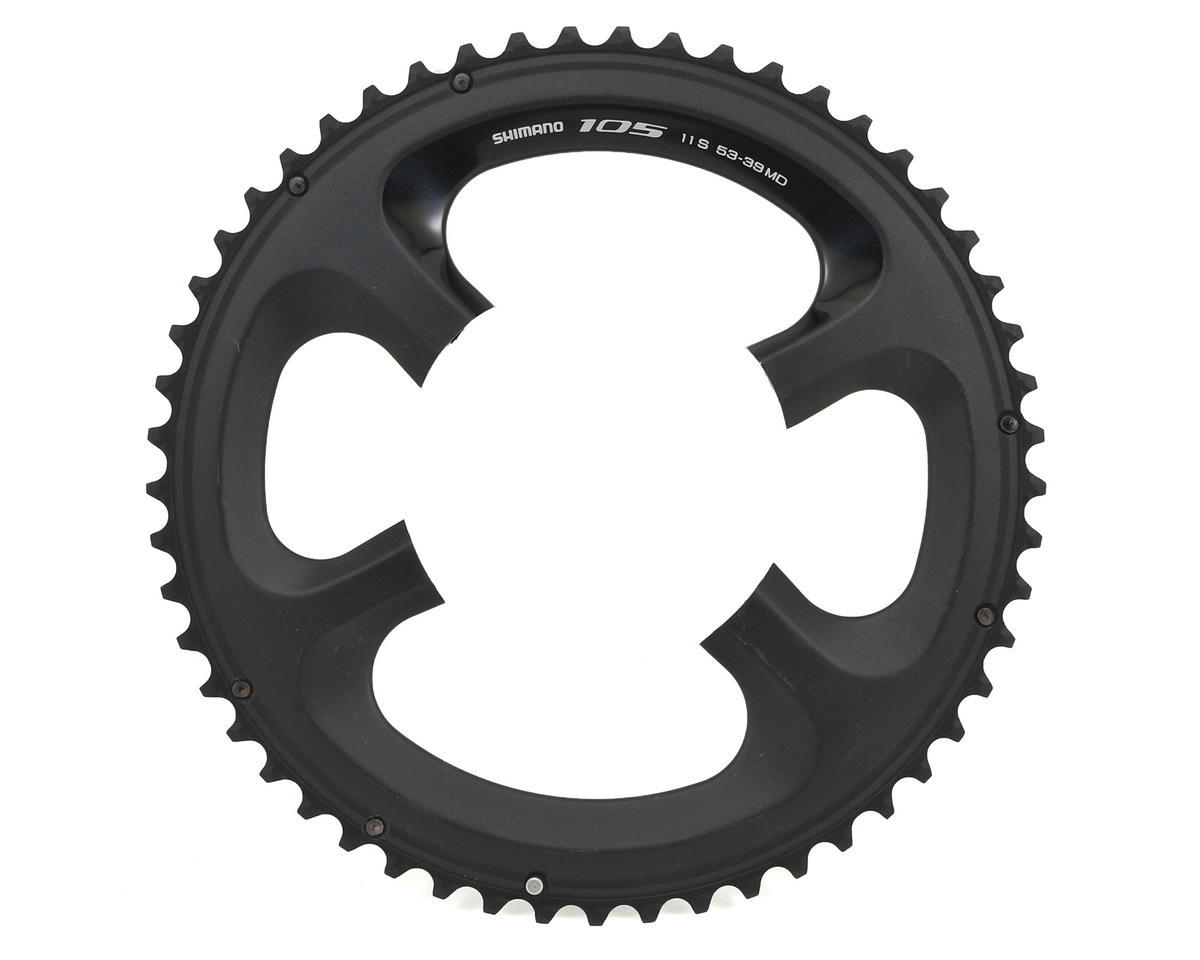 Shimano 105 FC-5800L Outer 11-Speed Standard Chainring (53T) (110mm) (Black)