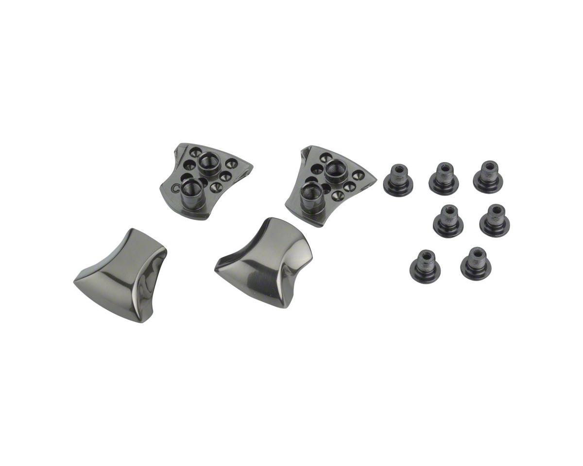 Shimano XTR FC-M9000 2x Crank Chainring Bolt and Cap Set