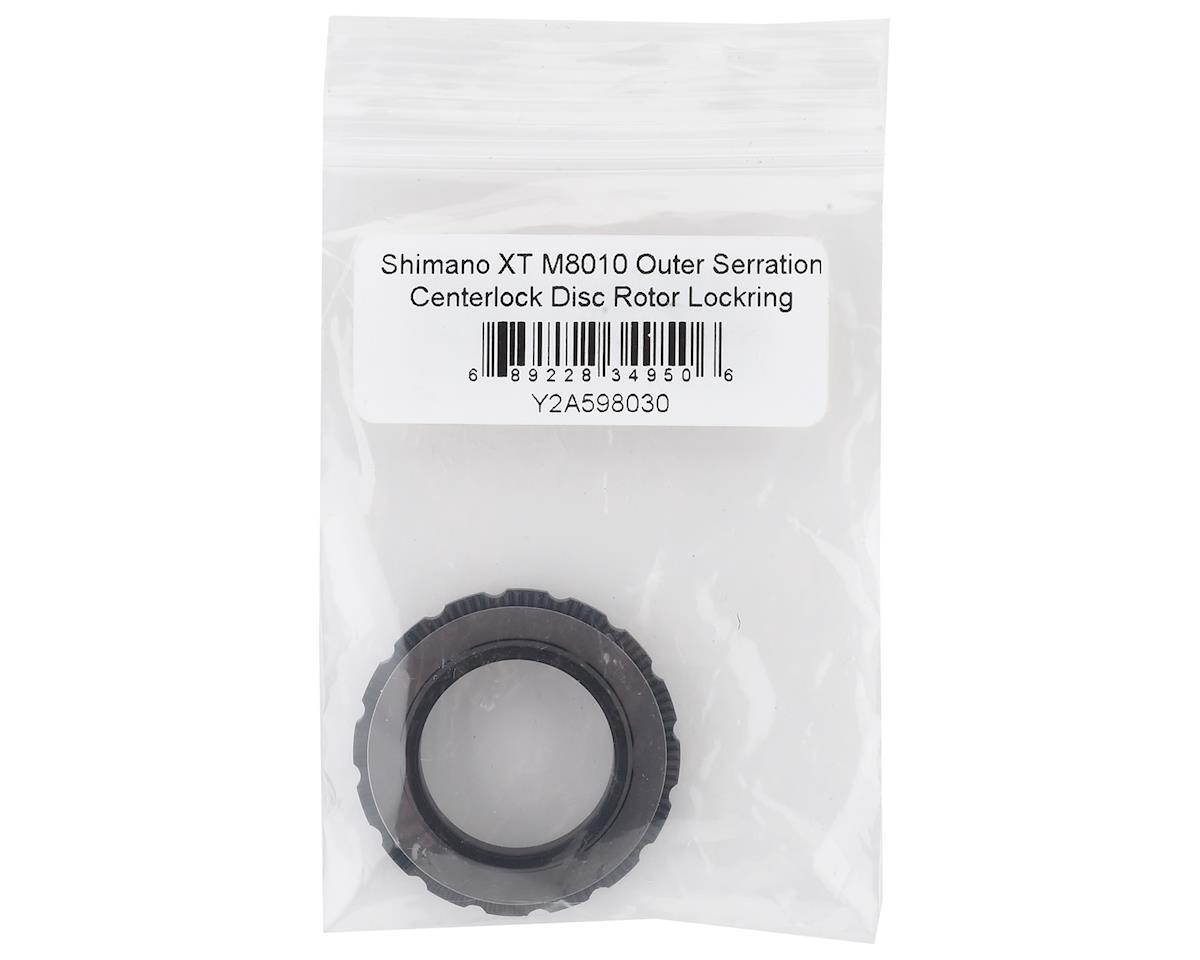 Shimano XT M8010 Outer Serration Centerlock Disc Rotor Lockring