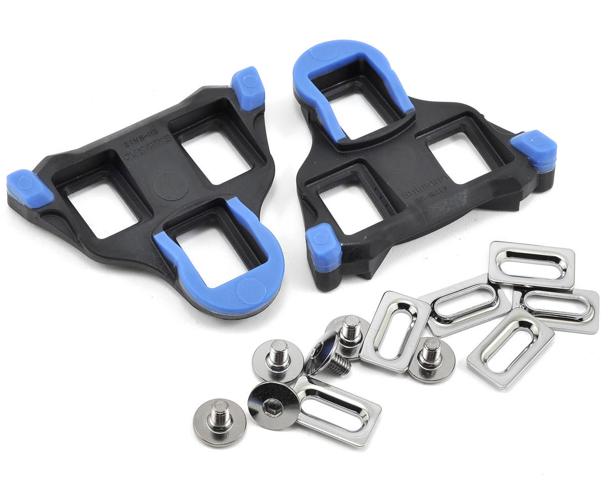 Shimano SM-SH12 Road Cleats for SPD-SL (Blue/ 2° Float)