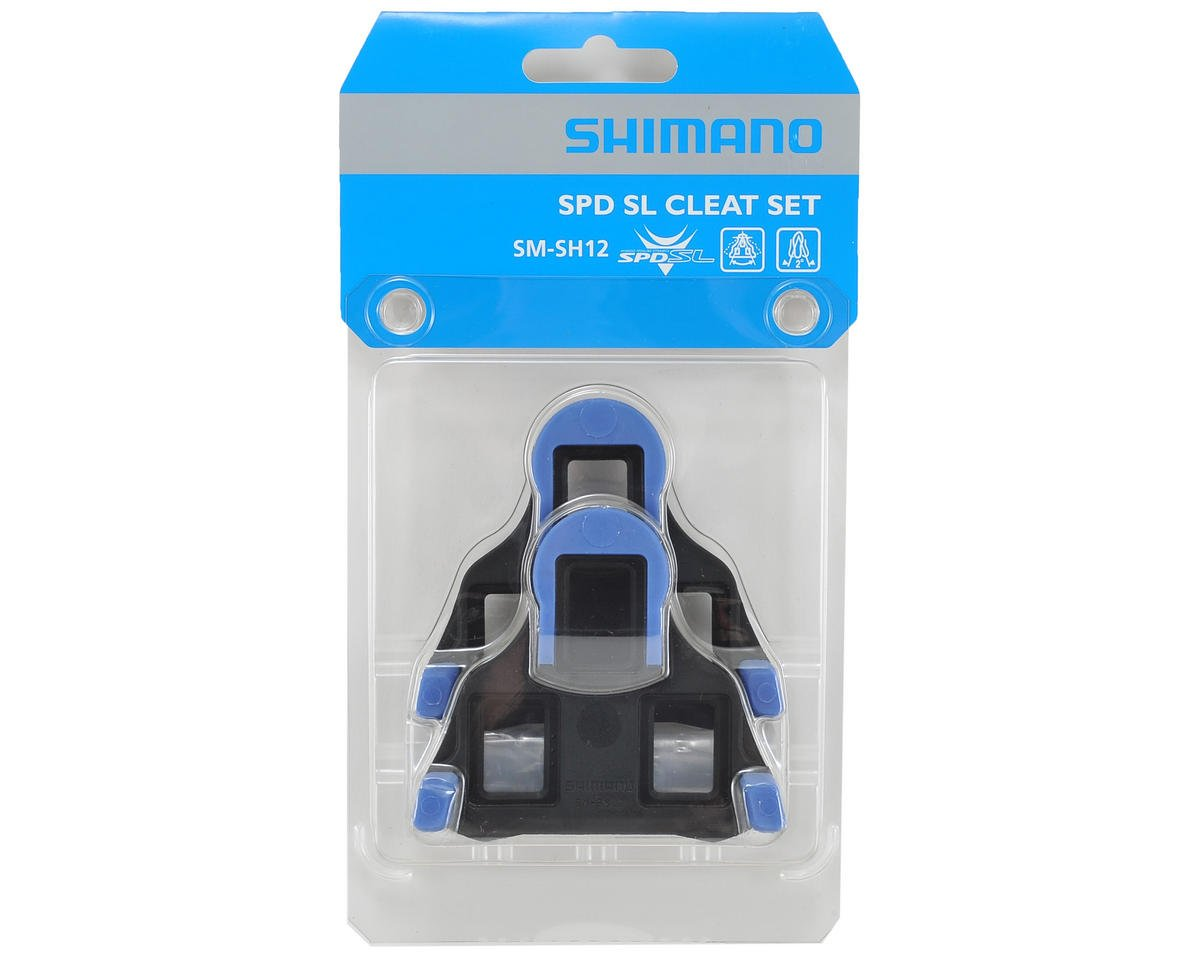 Shimano SM-SH12 SPD-SL Cleat Set With Hardware (Front-Center-Pivoting)