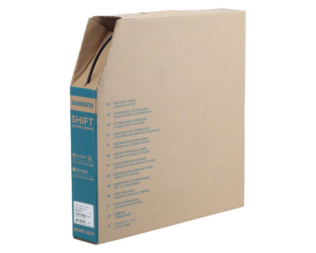 Shimano SP41 Derailleur Housing Box 4mm x 50m, Black | relatedproducts