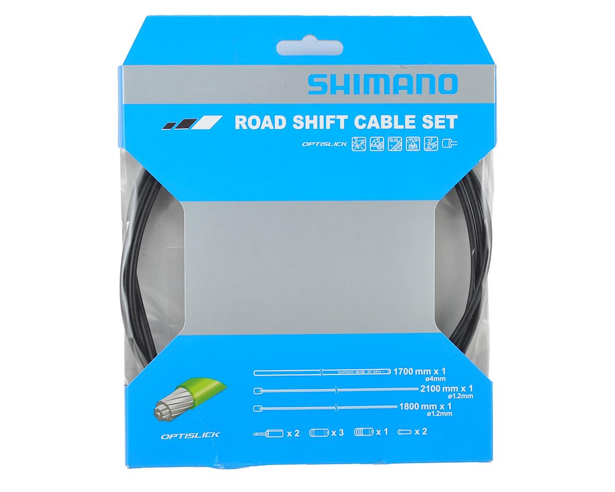 Shimano PTFE Coated Road Shift Cable /& Housing Kit Green