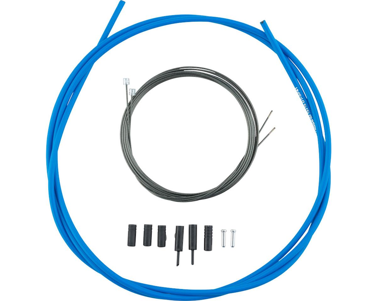 Shimano Road Optislick Derailleur Cable and Housing Set (Blue)