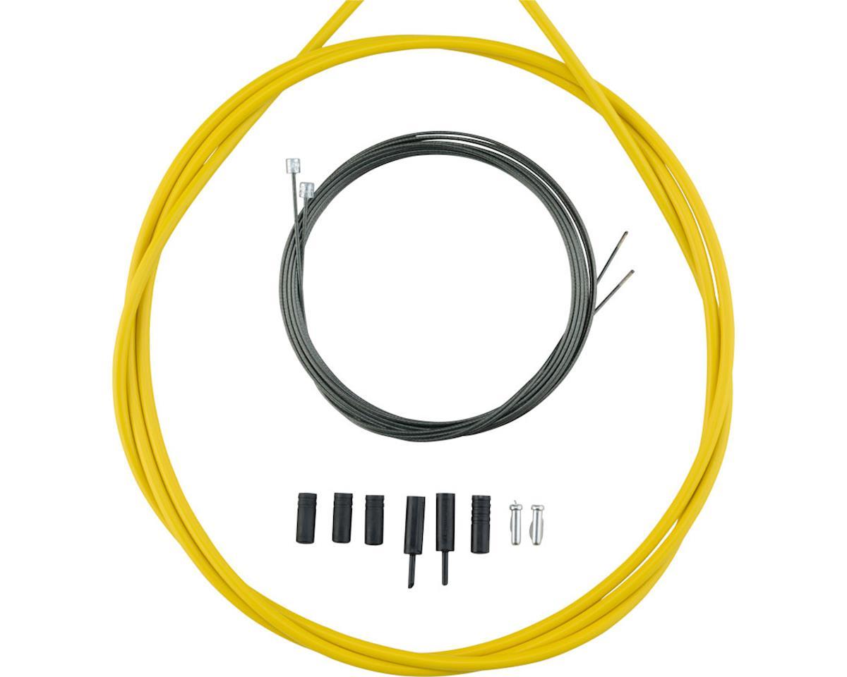 Shimano Road Optislick Derailleur Cable and Housing Set (Yellow)