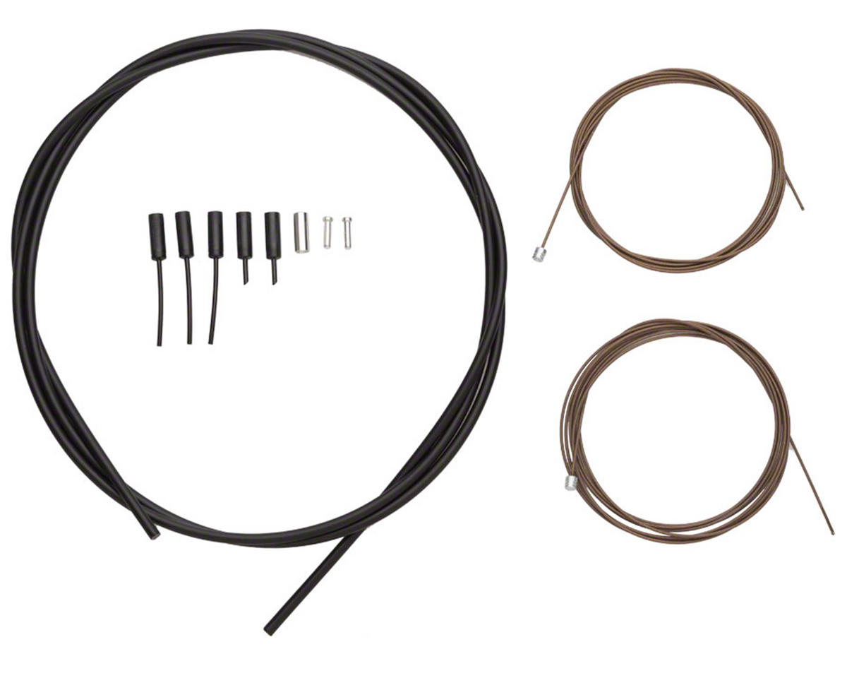 Shimano Dura Ace Road Shift Cable Set Polymer Coated (Black)