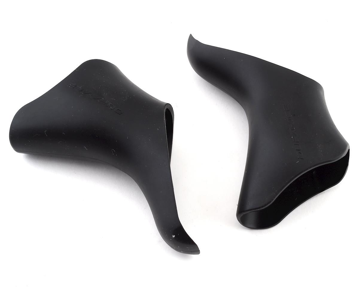 Shimano Dura-Ace ST-7801/7803 STI Lever Hoods (Black) (Pair)