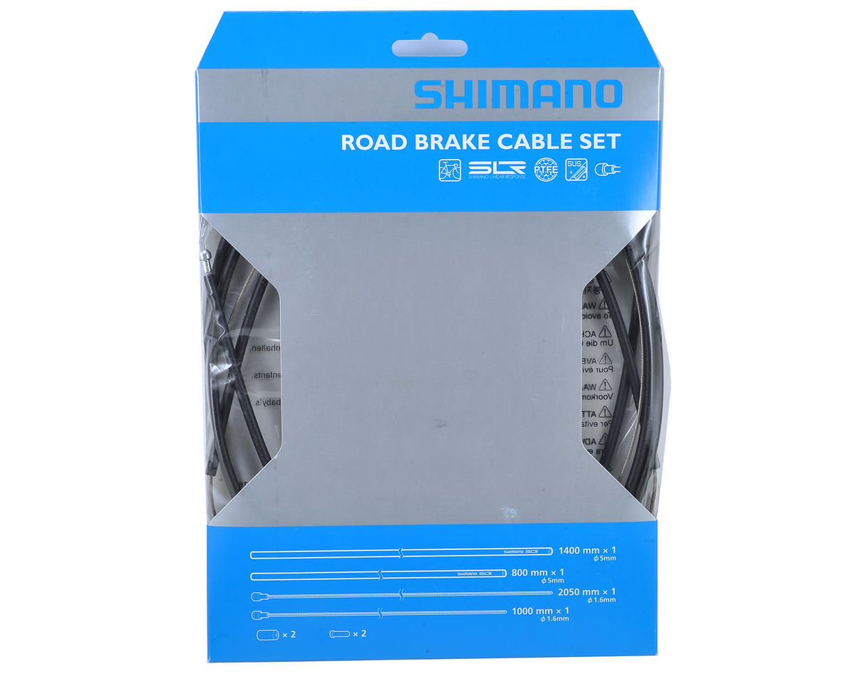 Shimano Road PTFE Brake Cable & Housing Set  (Black)