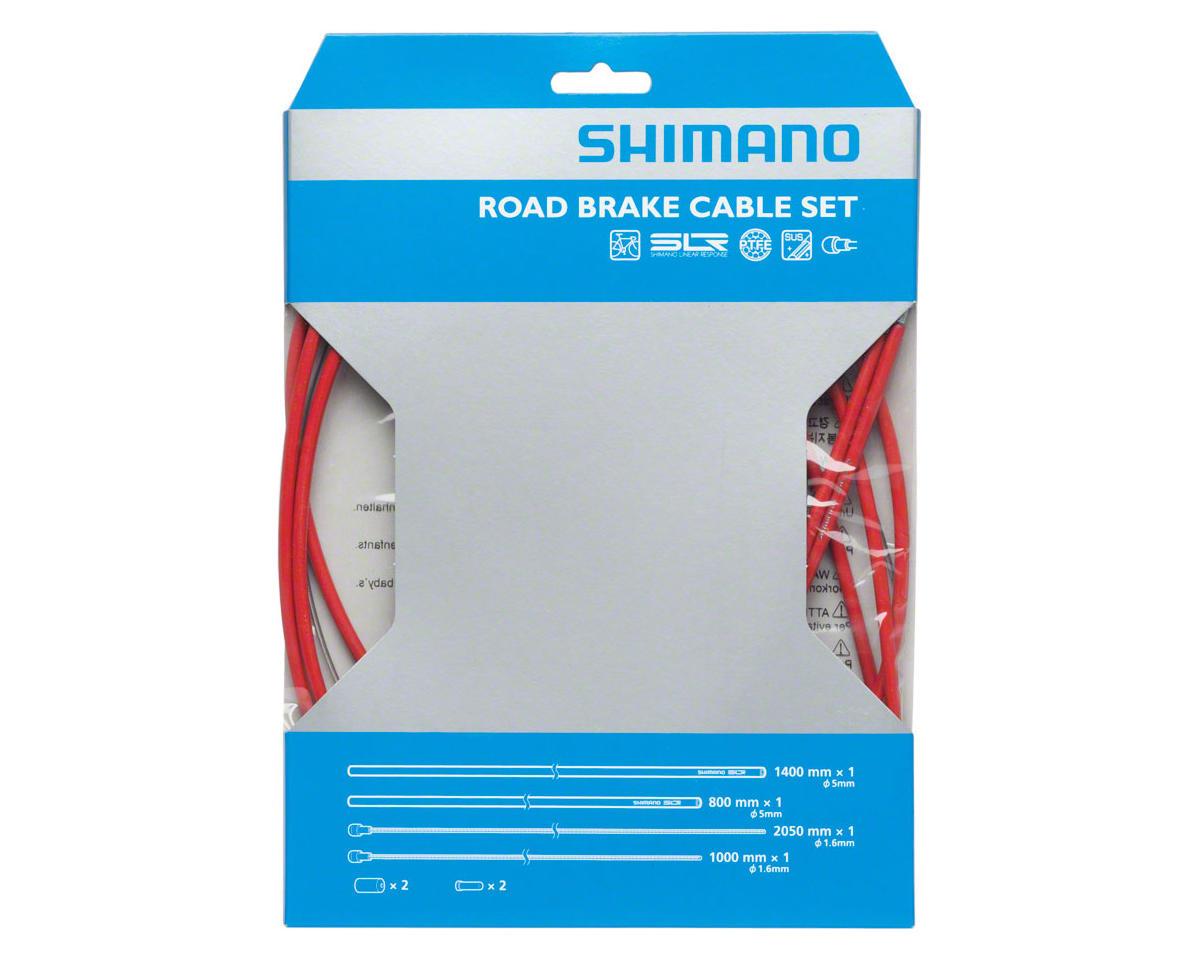 SHIMANO ROAD PTFE ROAD BIKE BICYCLE GRAY BRAKE CABLE KIT W// HOUSING