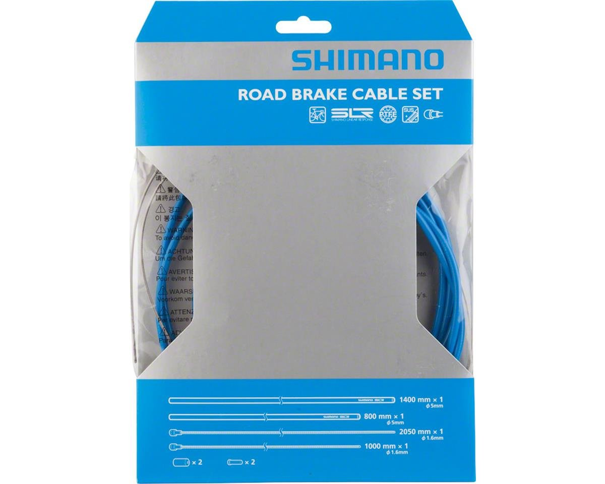 Shimano Road PTFE Brake Cable and Housing Set (Blue)