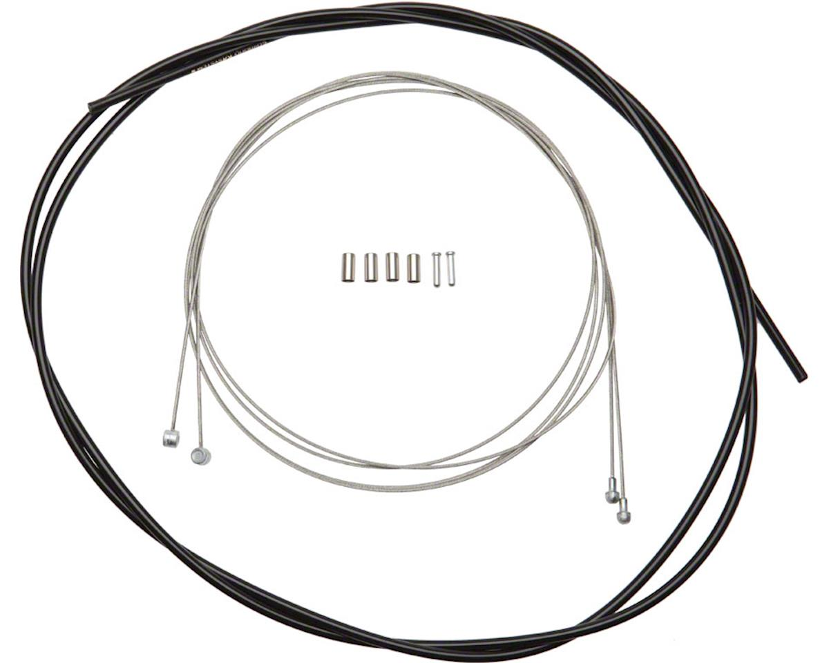 ALUMINIUM END CAP Bowden Trains Universal Wire Rope 1 Bicycle Brake Cable 2000mm x 1,5mm