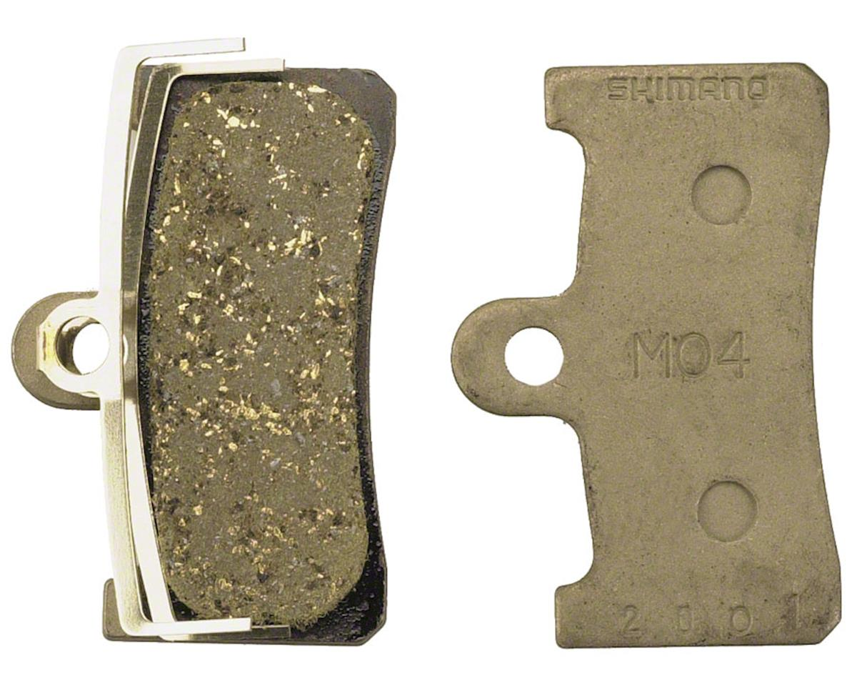 Shimano M04 Resin Disc Brake Pads & Spring (For XT BR-M755 Calipers)