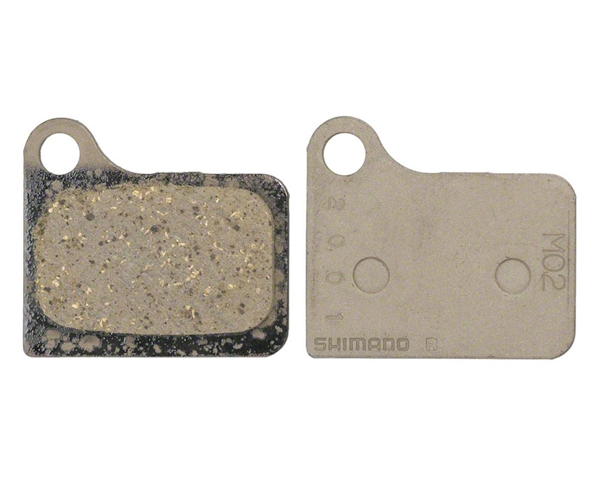 Shimano M02 Resin Disc Brake Pads & Spring (For Deore BR-M555 Calipers)