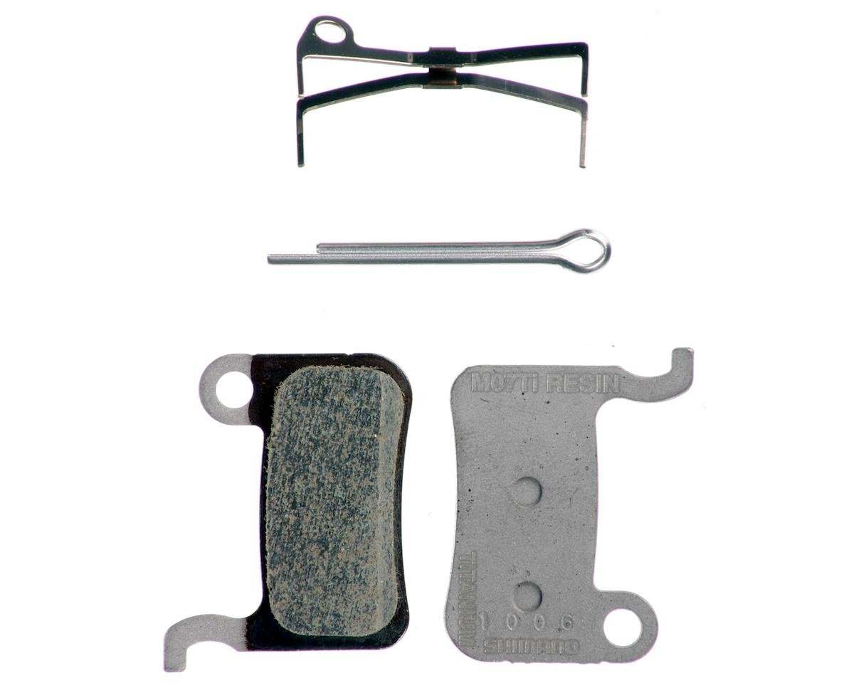 Shimano M07Ti Resin Disc Brake Pads and Spring for XTR BR-M975, Saint BR-M800, X