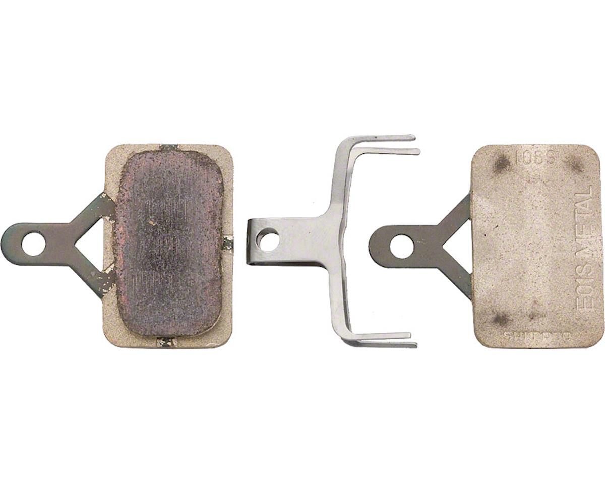 Shimano Deore E01S Metal Disc Brake Pads & Spring