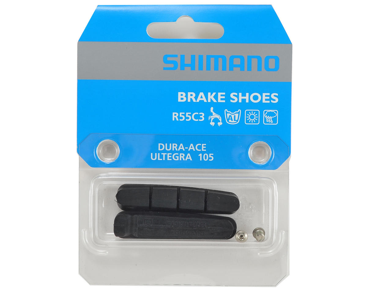 Shimano BR-7900 Cartridge Brake Shoes (R55C3) (Alloy Rims) (2)