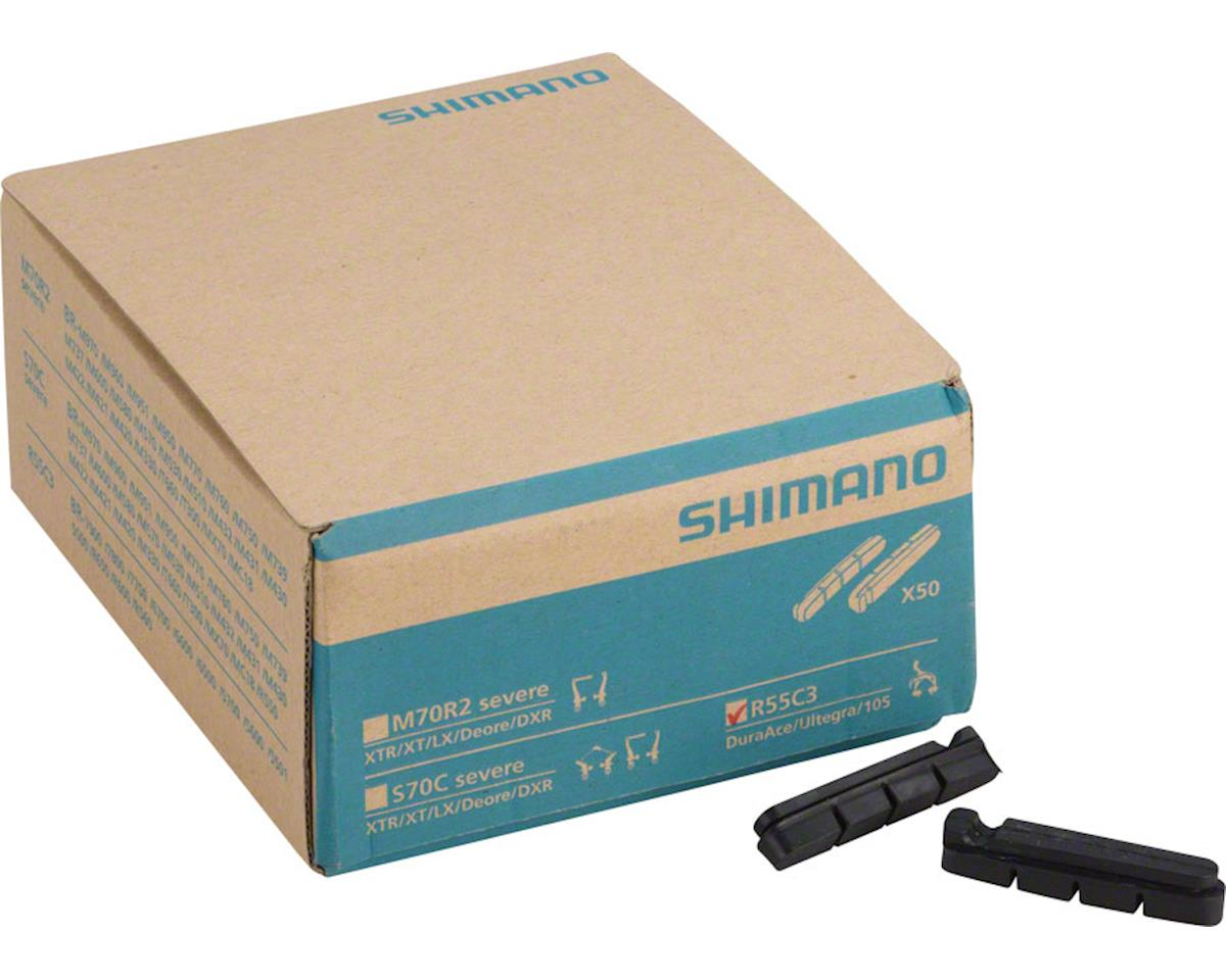 Shimano R55C3 Road Brake Pads, 50 Pairs | relatedproducts