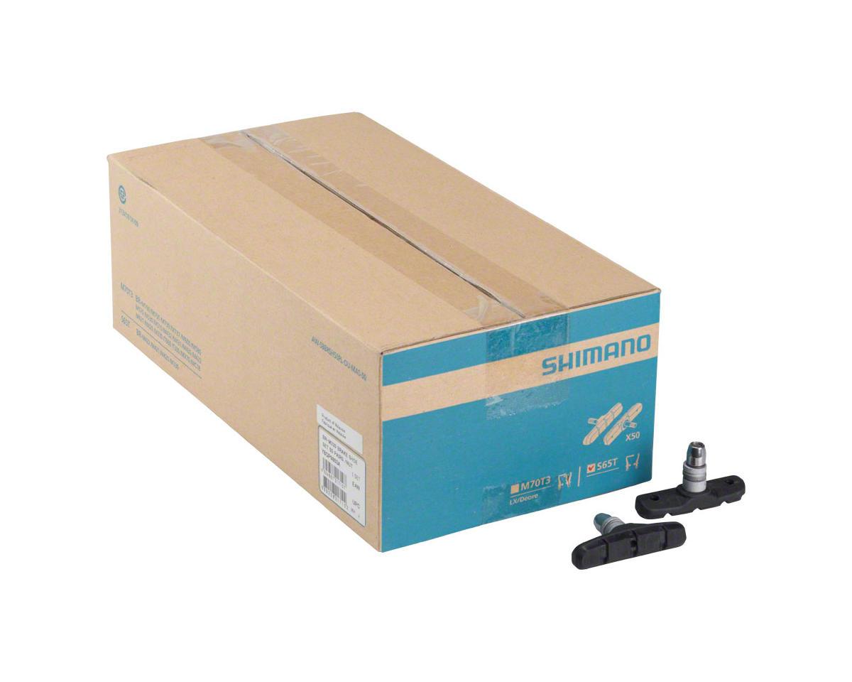 Shimano S65T V-Brake Shoe Set, 50 Pairs