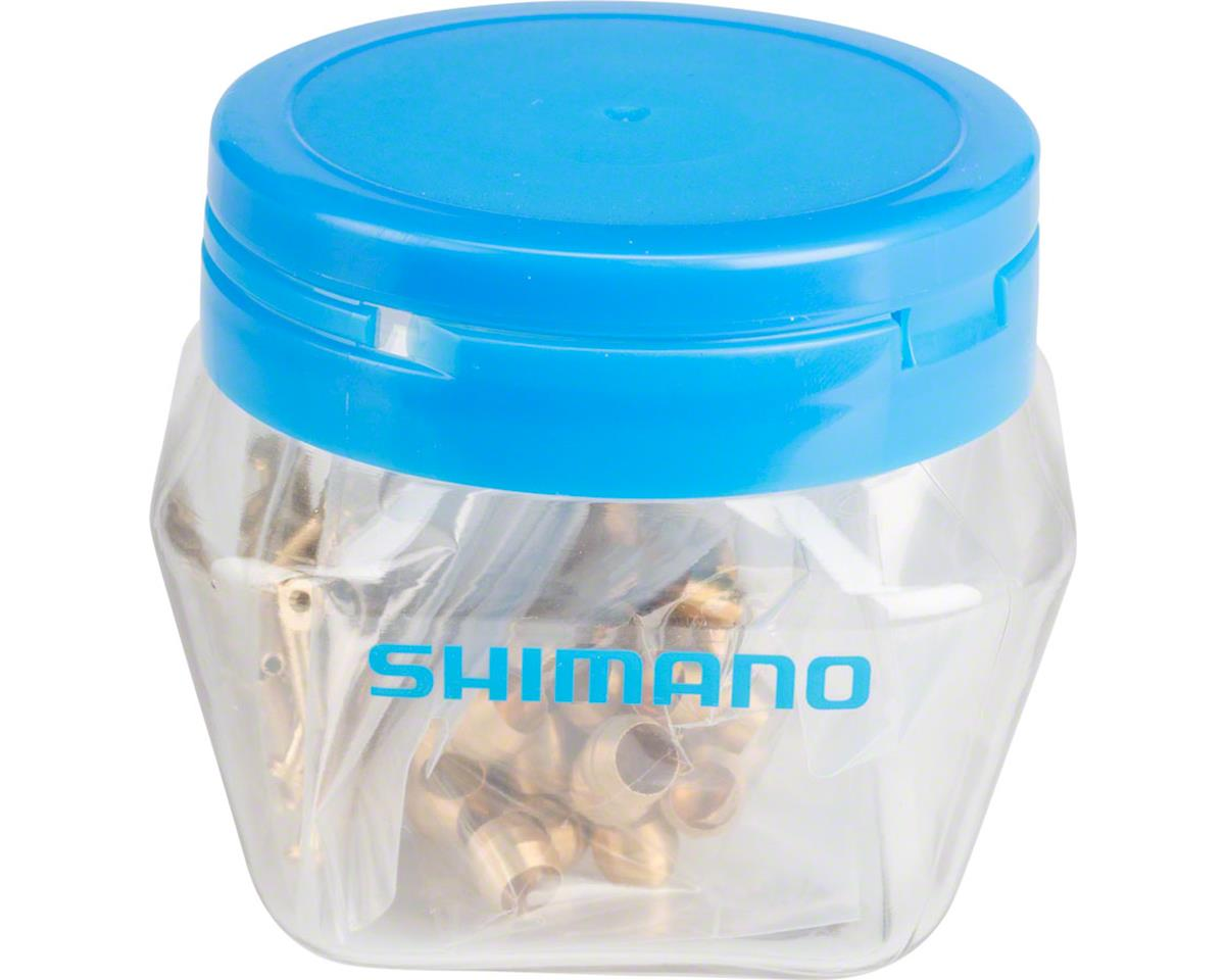 Shimano Bulk BH59 Olive and Insert, Jar of 50 pair (2nd gen. fitting Y8H298040)