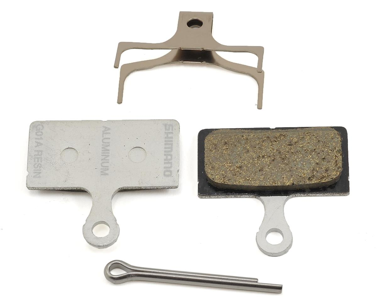 Shimano G01A Resin Disc Brake Pad & Spring (XTR/XT/SLX/Alfine)