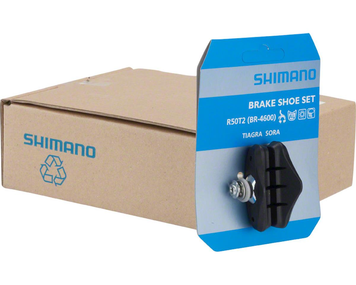 Shimano Tiagra BR-4600 R50T2 Road Brake Shoes, 5-Pairs