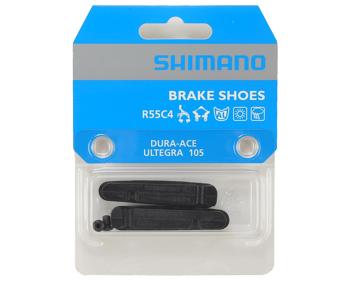 Image 2 for Shimano BR-9000 R55C4 Cartridge Brake Shoe & Fixing Bolt (2)
