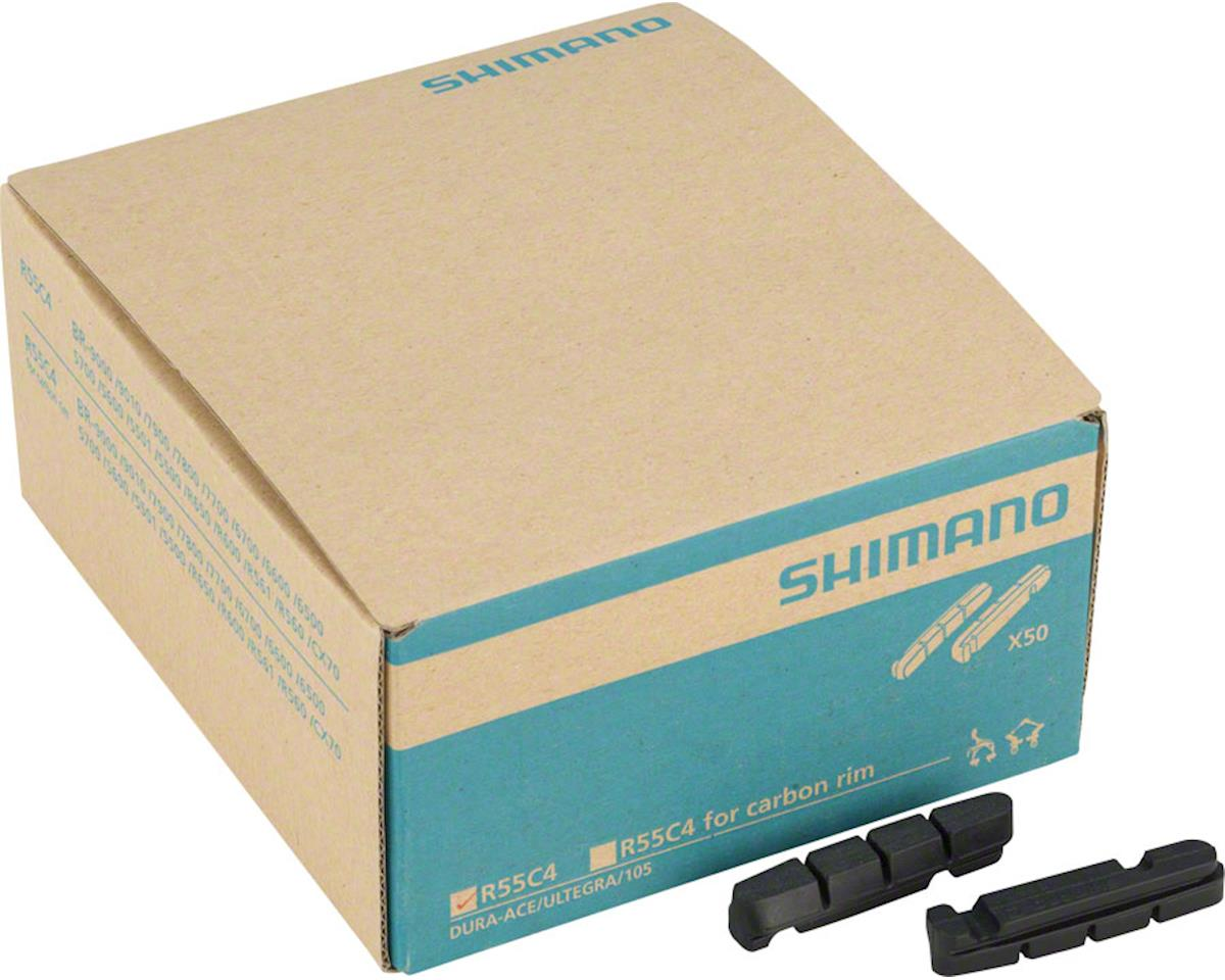 Shimano R55C4 Road Brake Pads, 50 Pairs