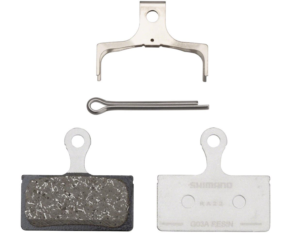 Shimano G03A Resin Disc Brake Pad and Spring for XT, XTR, SLX, and Road Disc