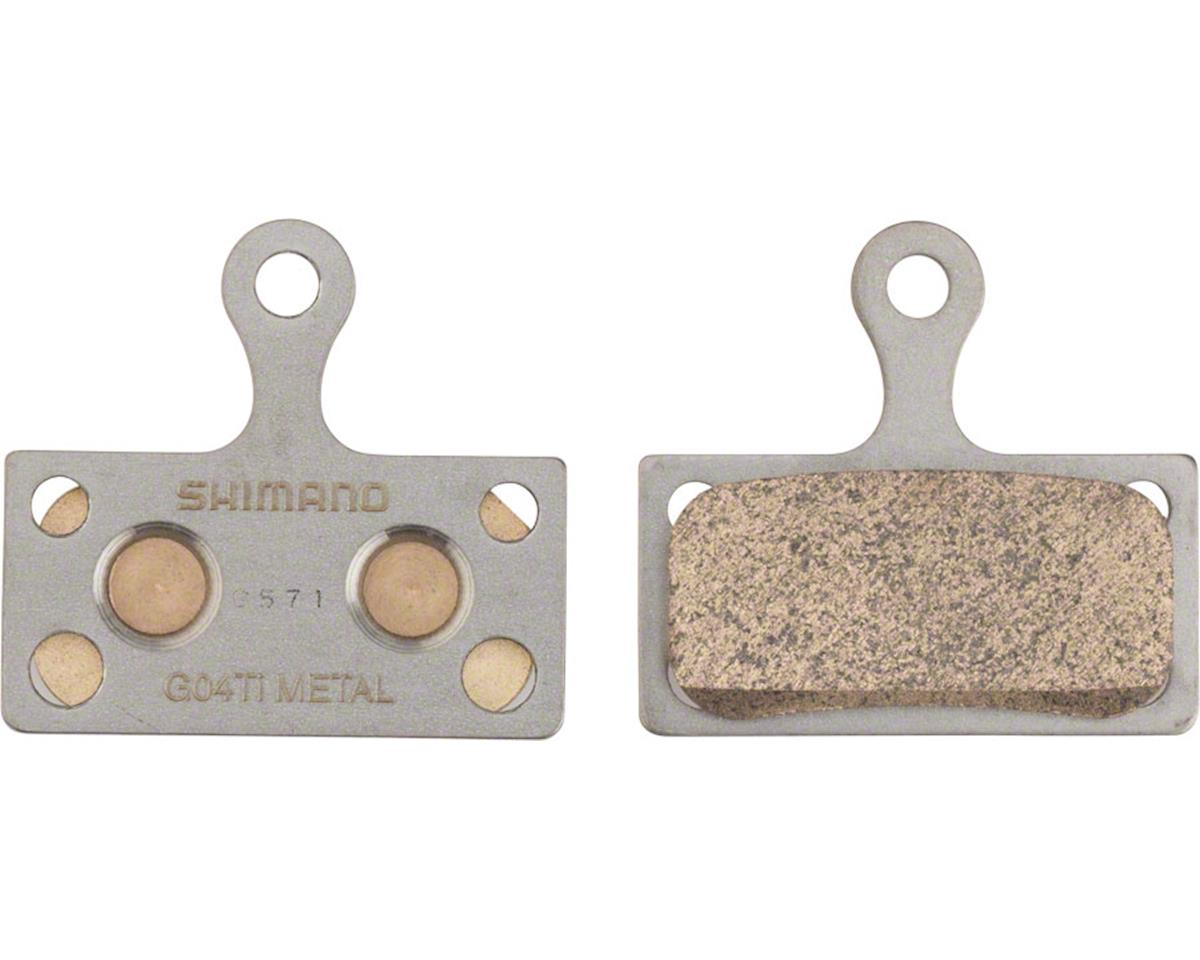 Shimano G04Ti MTB Metal Disc Brake Pads & Spring