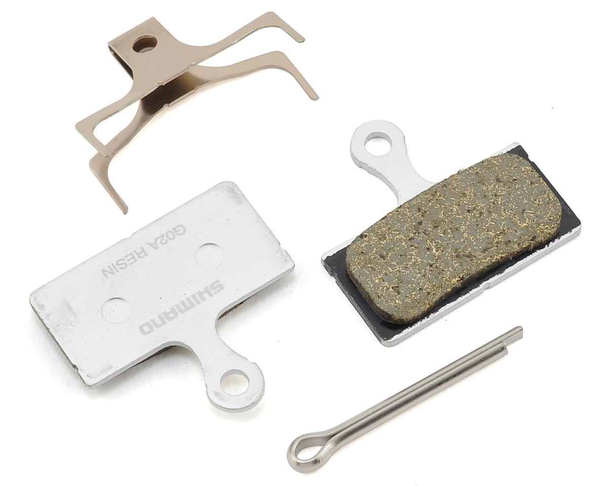 Shimano G02A Resin Disc Brake Pad and Spring for XT, XTR, SLX, and Road Disc
