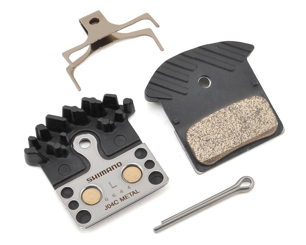 Shimano J04C Finned Disc Brake Pads (XTR, XT, SLX, Alfine)