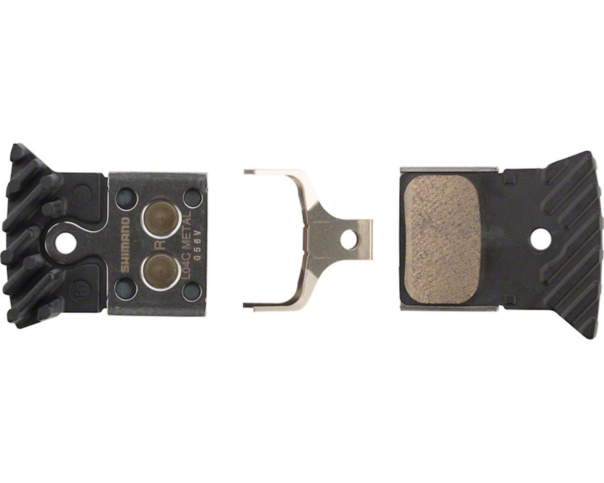 Shimano L04C Metal Disc Brake Pads w/ Fin Road Disc Calipers | relatedproducts