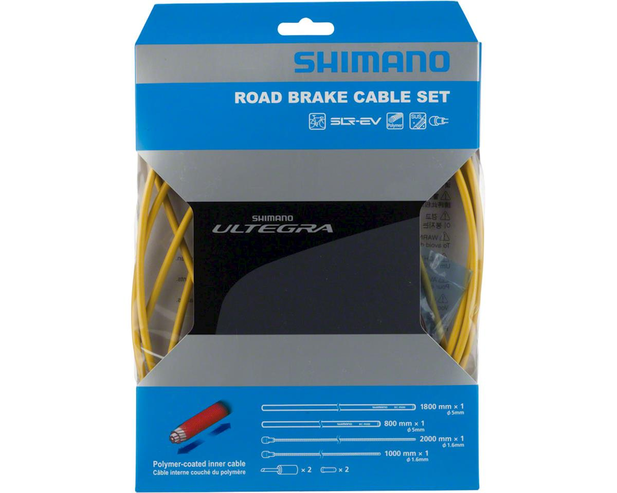 Shimano Ultegra BC-R680 Polymer-coated Brake Cable Set (Yellow)