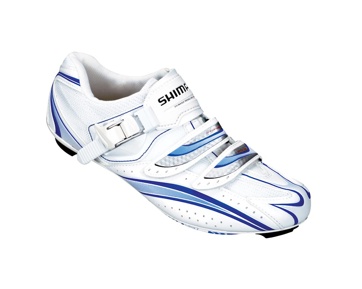 8dd6688f9ee69c Shimano Women's SH-WR61 Road Shoes (White) (44) [YS-WR61-WH-P ...