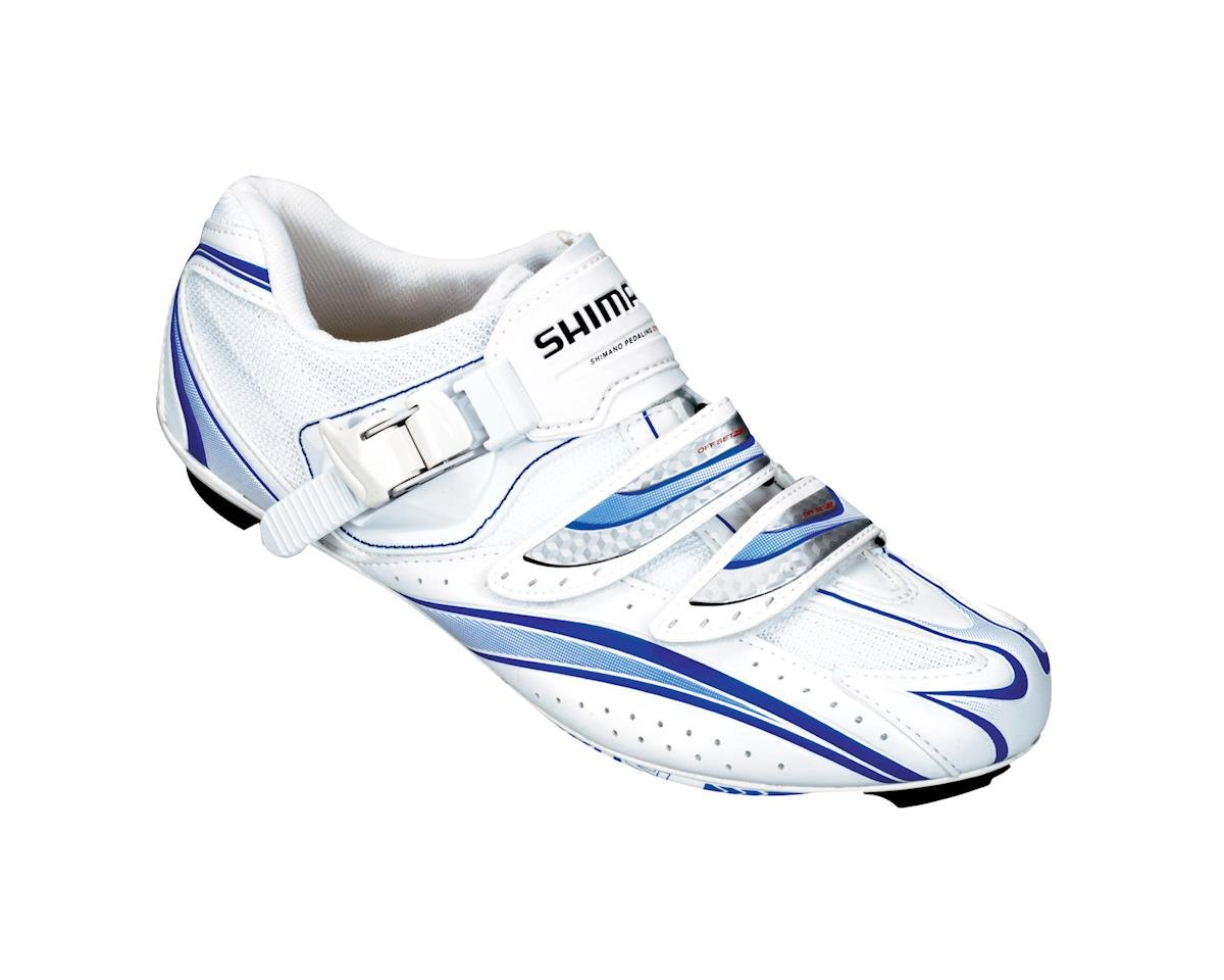 Shimano Women's SH-WR61 Road Shoes (White) (44)