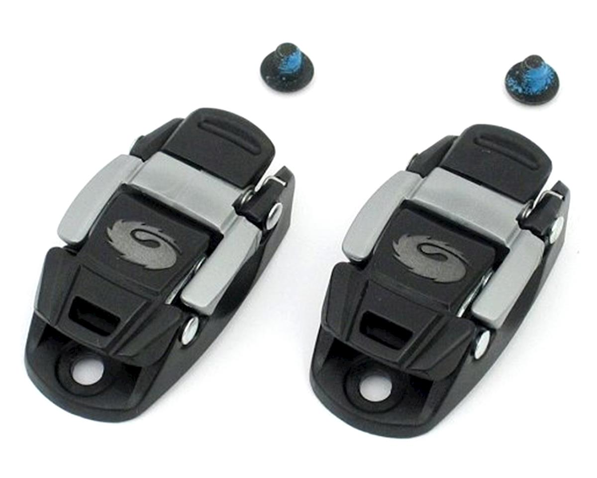 Sidi Bike Shoes Caliper Buckles (Black/Grey)