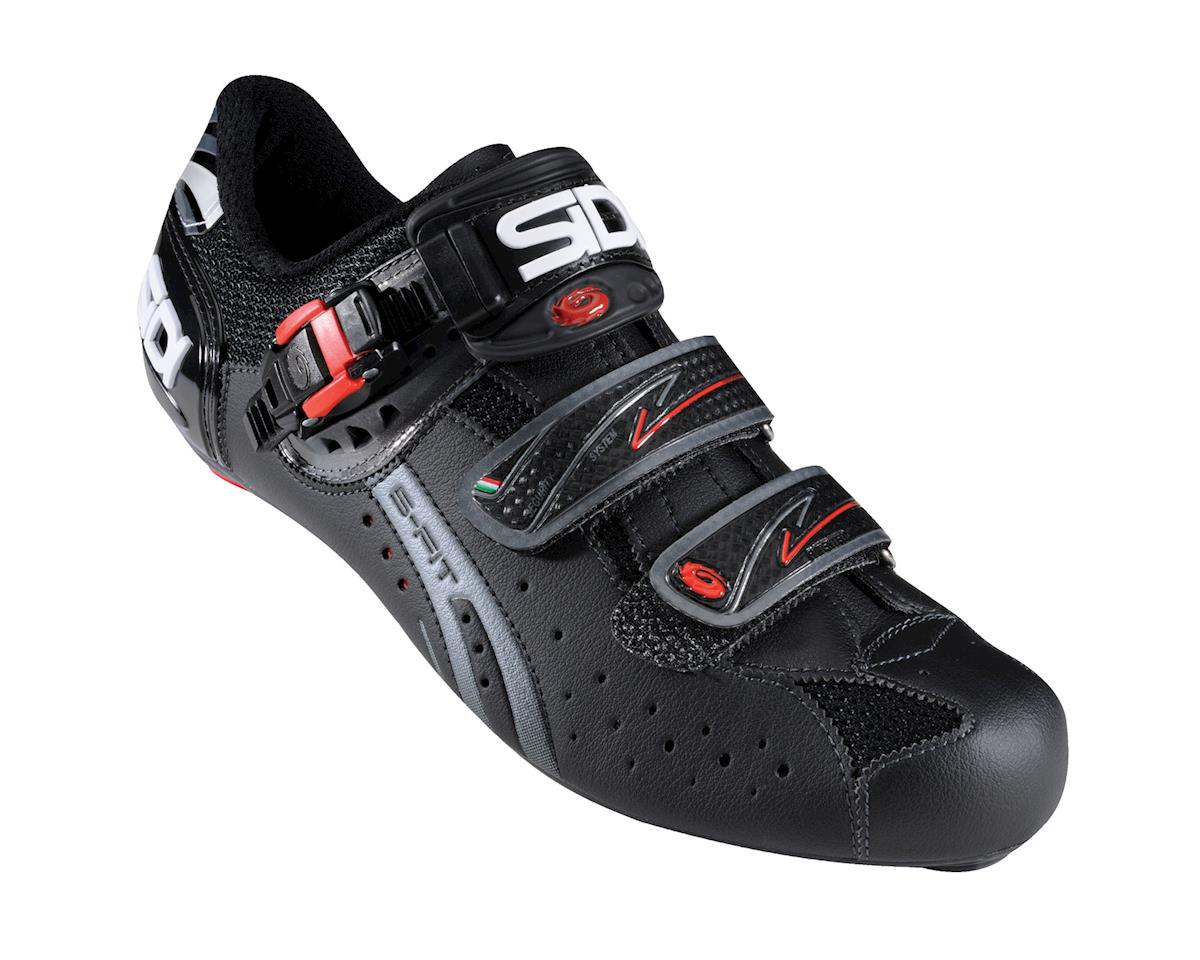Sidi Genius Fit Carbon Mega Road Shoes (Black)