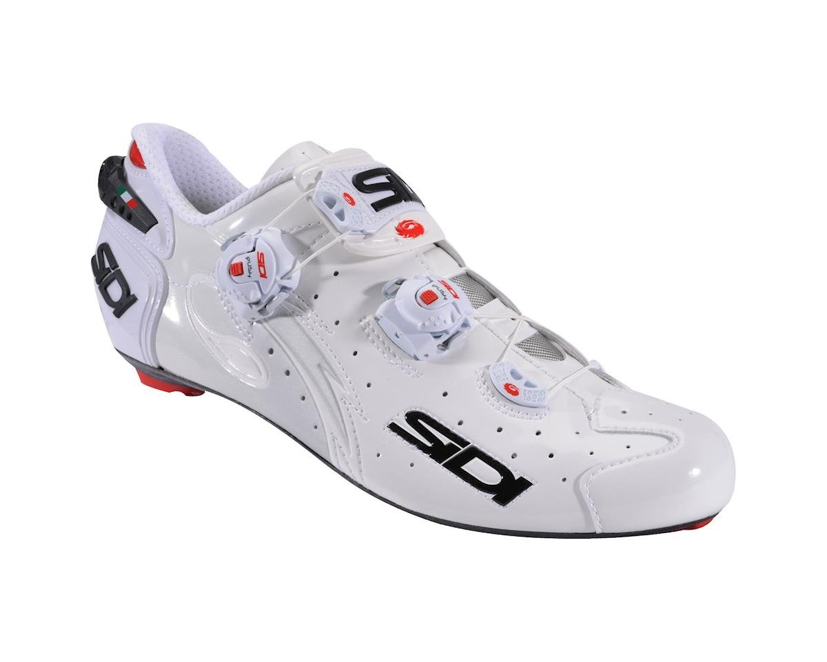 Sidi Wire SP Carbon Push Road Shoes (White)