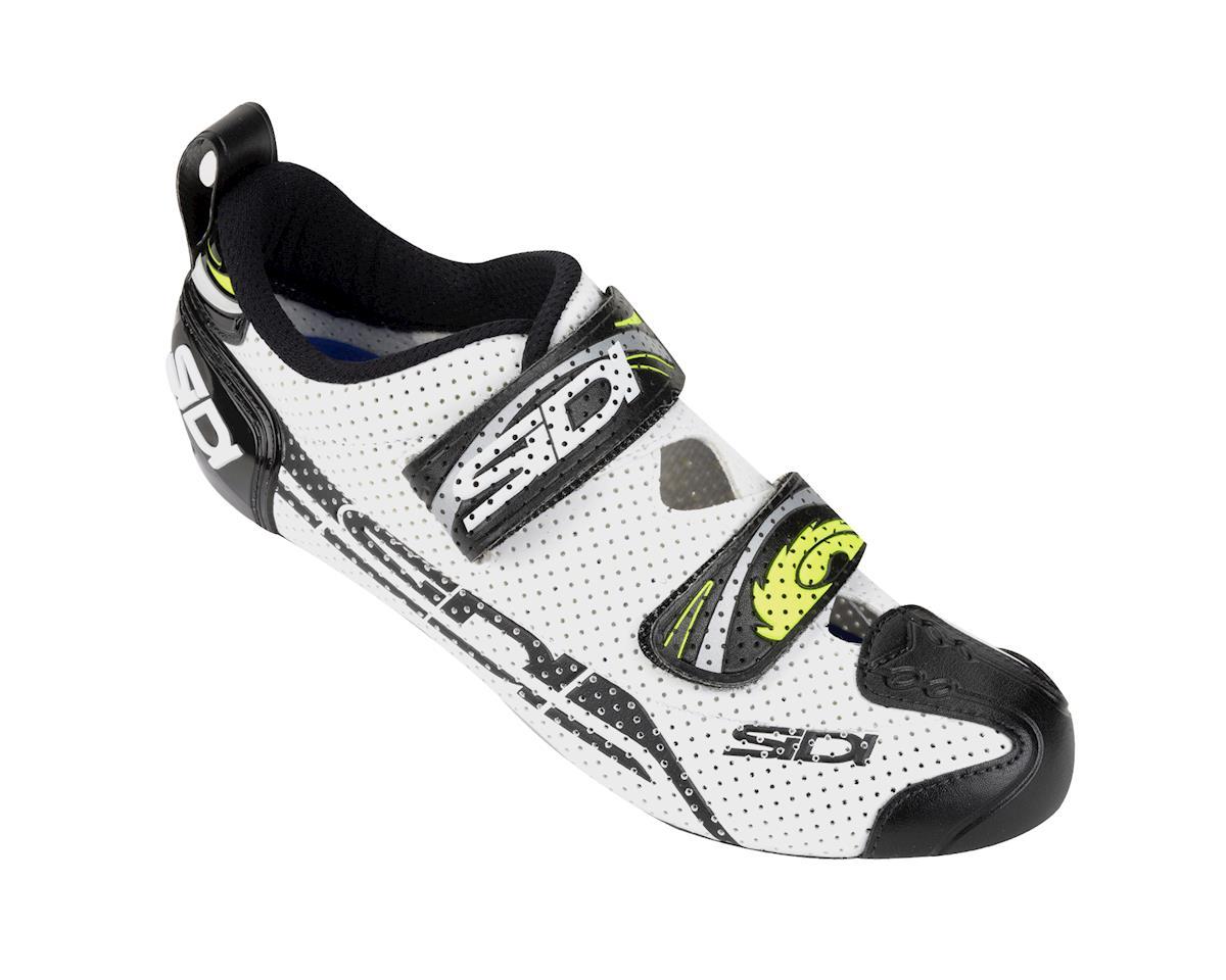 Sidi T4 Air Carbon Triathlon Shoes (Black/White)