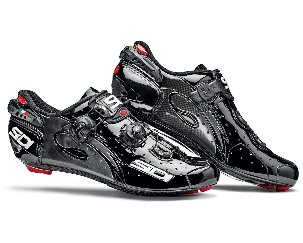 Sidi Wire Vent Carbon Push Bike Shoes (Black)