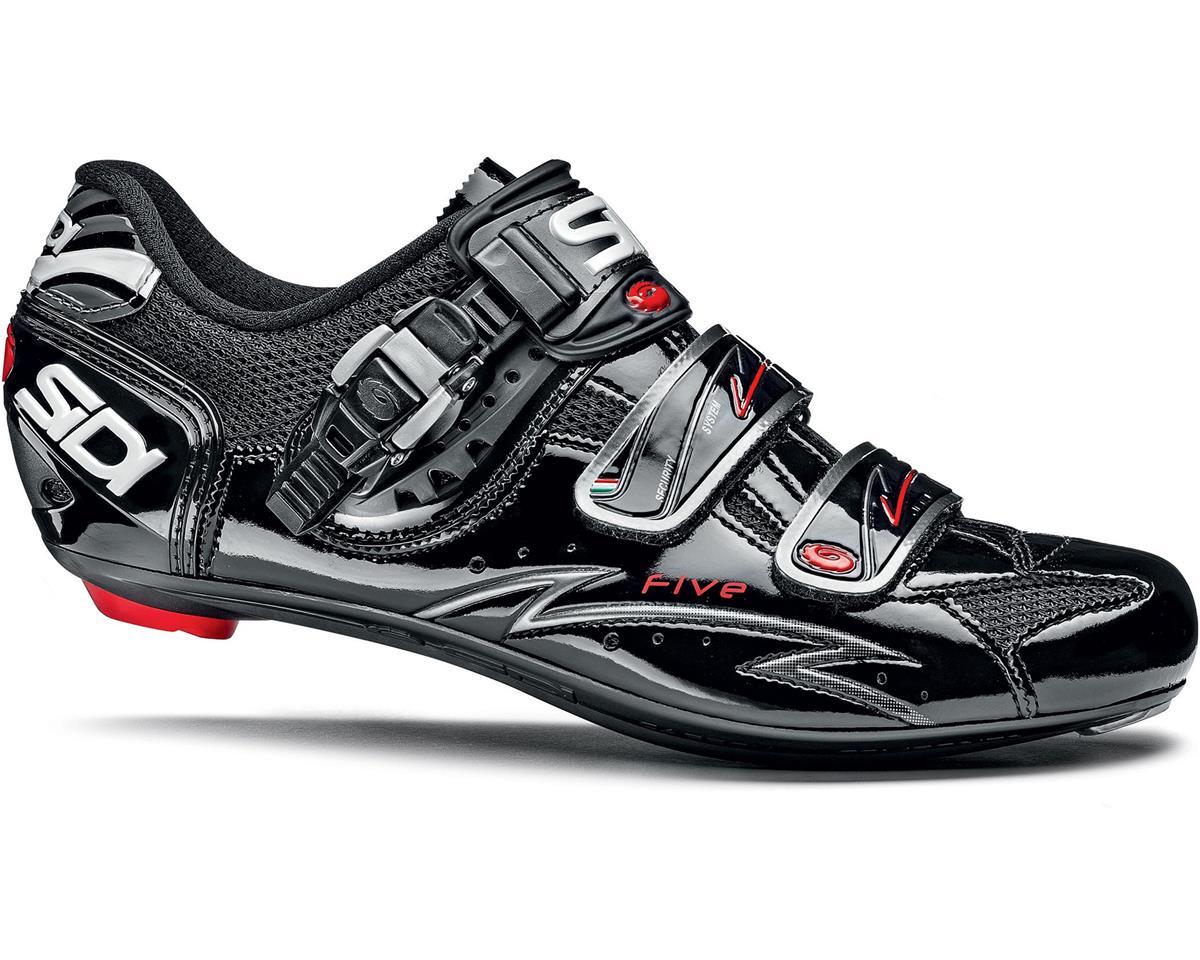Sidi Five Carbon Vernice Bike Shoes (Black)