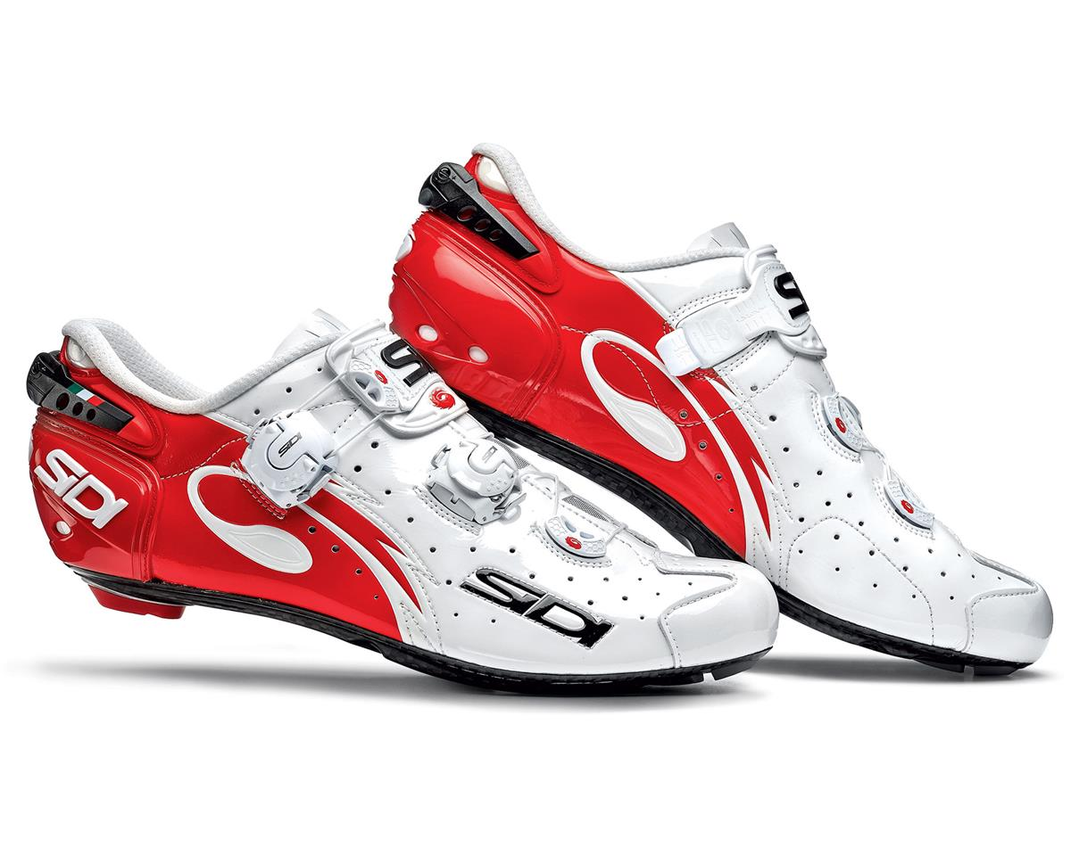 Sidi Wire Vent Carbon Bike Shoes (Red/White)