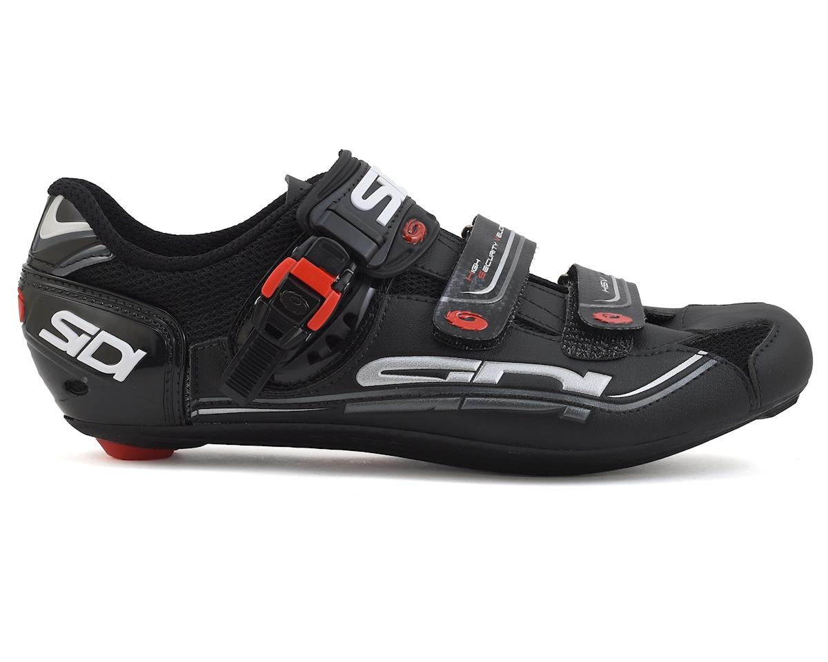 Sidi Genius 7 Carbon Road Bike Shoes (Black) (46)