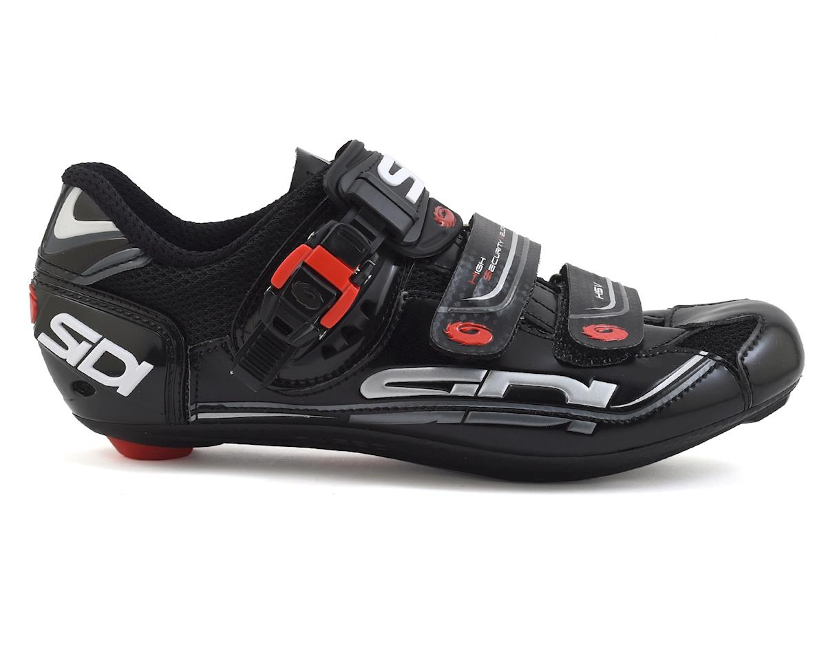 Sidi Genius 5 Fit Carbon Vernice Women's Bike Shoes (Black) (40)