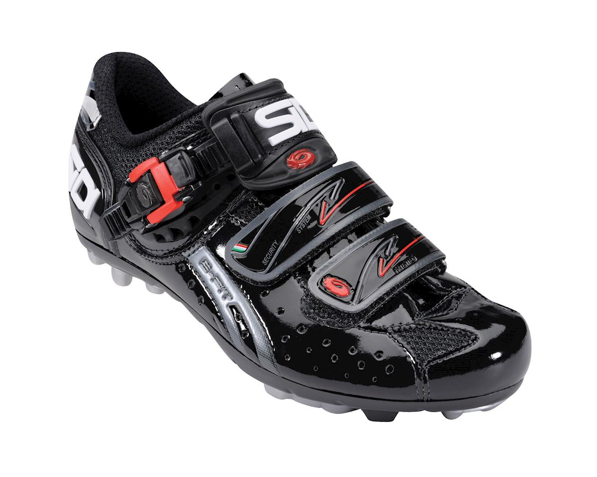 Sidi Dominator Fit Womens Vernice Bike Shoes (Black)