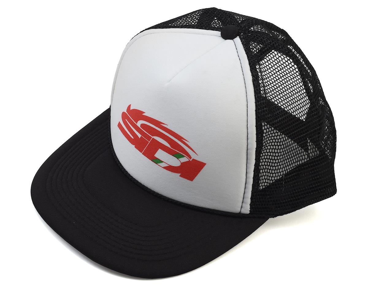 Sidi Eight Dollar Snapback Trucker Hat (Black/White)
