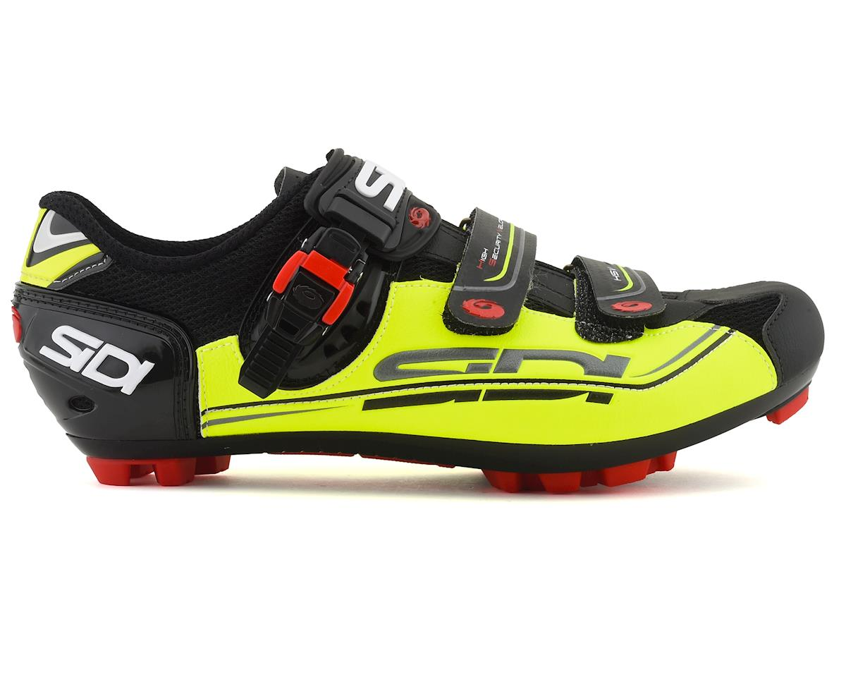 Sidi Dominator 7 SR MTB Shoes (Yellow Fluo/Black) (47)