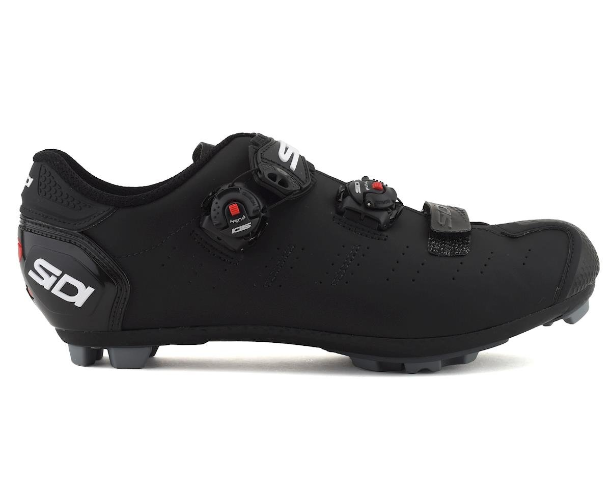 Sidi Dragon 5 Mountain Shoes (Matte Black/Black) (48)